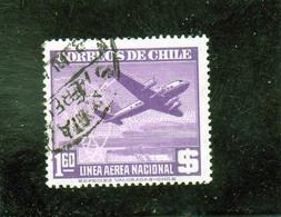 CHILI     1946-50  Poste Aérienne  Y. T. N° 104  à  120  Incomplet  Oblitéré  114 - Chile