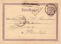 10 MEI 75 Stationsstempel 's-GRAVENHAGE En Kl.rond AMST:-ROTTERD: C Op Bk N. Haarlem - Poststempel