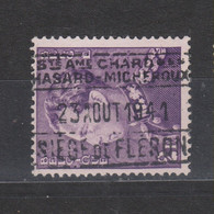 COB 431 Oblitération Fiscale Entreprise Charbonnages HASARD - MICHEROUX à FLERON Pas Courant - 1936-1951 Poortman