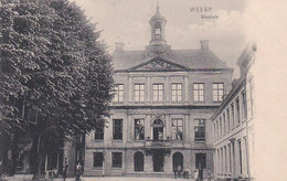 1887150Weesp, Stadhuis (poststempel 1908) - Weesp