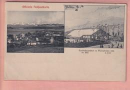 OUDE POSTKAART ZWITSERLAND - SCHWEIZ -     WOLLISHOFEN - 1904 - ZH Zurich