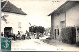 25 DAMBELIN - La Route De Mambouhans - Andere Gemeenten