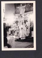 Photo Originale Epinal Premiere Messe Abbé Gerard Humbert Eglise St Saint Antoine - Lugares
