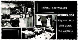 Genk - Hotel-restaurant Rembrandt - Genk