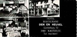 Kasterlee - Den En Heuvel - Hotel-restaurant - Publikaartje - Kasterlee