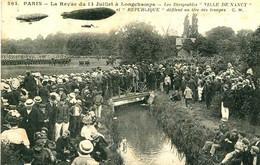 La Revue Du 14 Juillet à LONGCHAMPS  = Les Dirigeables ...   1931 - Unclassified