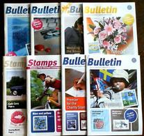 SWEDEN POST Stamp News 2009, 2010#2,3,4.5,2011#1,2,3 - Scandinavian Languages