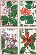 Ref. 94180 * NEW *  - KIRIBATI . 1981. TROPICAL FLOWERS. FLORES TROPICALES - Kiribati (1979-...)