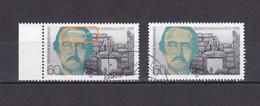 Francobollo Usato- Heinrich Schliemann -1990 - Plaatfouten En Curiosa