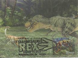 Carte Maximum - USA - EUA - Dinossauro - Dinosaure - Dinosaur - Tyrannosaurus Rex - T. Rex - Prehistorics