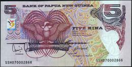 ♛ PAPUA NEW GUINEA - 5 Kina 2007 {13th South Pacific Games ~ 2007} AU-UNC P.34 - Papouasie-Nouvelle-Guinée