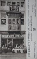 LIEGE Magasin Publicité Aux Bibelots D'Autrefois Antiquités Curiosités Objets D'art BELGIUM Advertising Antiques Shop - Winkels