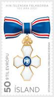 IJsland / Iceland - Postfris / MNH - Complete Set Order Of The Falcon 2020 - Nuovi