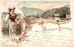 78496- Saluti Da Lugano Kanton Tessin 1898 - TI Ticino
