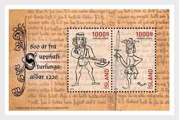 IJsland / Iceland - Postfris / MNH - Sheet 800 Jaar Eeuw Van De Sturlungs 2020 - Nuovi
