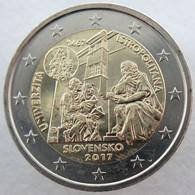 SQ20017.1 - SLOVAQUIE - 2 Euros Commémo. Académie Istropolitaine - 2017 - Eslovaquia