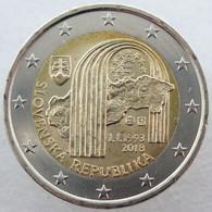 SQ20018.1 - SLOVAQUIE - 2 Euros Commémo. 25e Anniversaire De La République Slovaque - 2018 - Eslovaquia