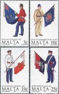 Ref. 164314 * NEW *  - MALTA . 1991. MILITARY UNIFORMS. UNIFORMES MILITARES - Malta