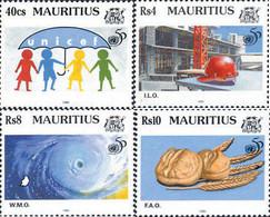 Ref. 162778 * NEW *  - MAURITIUS . 1995. 50th ANNIVERSARY OF THE UN. 50 ANIVERSARIO DE LAS NACIONES UNIDAS - Mauritius (1968-...)
