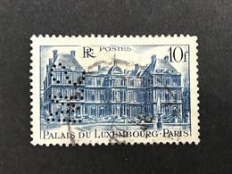 FRANCE S N° 760 1946 S.M 164 Perforé Perforés Perfins Perfin Superbe - Gezähnt (Perforiert/Gezähnt)