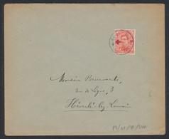 """Croix-rouge - N°153 Obl Relais """"Nylen"""" > Héverlé-Lez-Louvain / Fortune ? - 1918 Croce Rossa"""