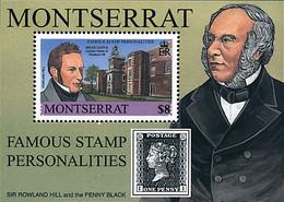 Ref. 75507 * NEW *  - MONTSERRAT . 2001. PHILATELY PERSONALITIES. PERSONALIDADES DE LA FILATELIA - Montserrat