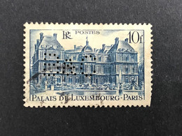 FRANCE B N° 760 1946 B&C 72 Indice 4 Perforé Perforés Perfins Perfin Superbe - Gezähnt (Perforiert/Gezähnt)