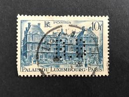 FRANCE B N° 760 1946 B.B 32 Indice 2 Perforé Perforés Perfins Perfin Superbe - Gezähnt (Perforiert/Gezähnt)