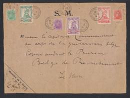 """Croix-rouge - Série Complète çàd N°126/28 + N°129/31 Sur Grand DEVANT S.M. """"Le Havre Spécial"""" (1914) > Le Havre - 1914-1915 Croce Rossa"""