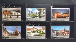 UNO-Wien 927/32 Oo/ESST, UNESCO-Welterbe: Tschechische Republik - Gebraucht