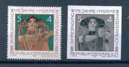Art Austria 1980 Painting Gustav Klimt 1 PERF + 1 IMPERF Stamps RARE Michel # 1643 MNH - Sonstige