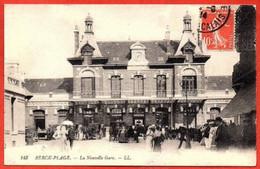 143. BERCK-PLAGE .La Nouvelle  Gare. - Berck