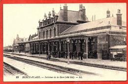 83. BERCK-PLAGE . Intérieur De La  Gare ( Côté Est ) - Berck