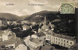 Larochette - Vue Prise Du Teiperlay (1913 Grand Hôtel De La Poste, Verlag Julius Müller) - Larochette