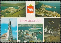 Norway - Hammerfest - Old Views - Harbour - Steamer - Dampfer - Kirche - Norwegen