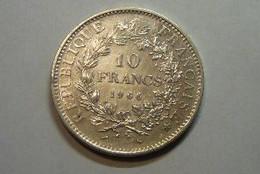 10F Hercule 1966 SPL Argent - K. 10 Francos