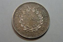 50F Hercule 1975 SPL Argent - M. 50 Francos