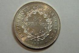 50F Hercule 1977 SPL Argent - M. 50 Francos