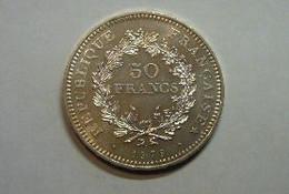 50F Hercule 1979 SPL Argent - M. 50 Francos