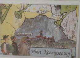 DH-8- HANSI L ALSACE MERVEILLEUSE HAUT KOENIGSBOURG IL PLEUVAIT LE JOUR DE L INAUGURATION - Alsace