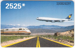 GERMANY K-Serie A-912 - 894 03.93 - Traffic, Airplane, Train - MINT - K-Series : Serie Clientes
