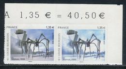 Variété - N° Yvert Adhésif 471 - 1 Bleu Clair Tenant à Bleu Violet Coin De Feuille - Neufs ** - V 813 - Abarten: 2010-.. Ungebraucht