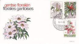 B01-212 1749 1751 NAT FDC 2  Floralies Gantoises V 23-2-1975 9000 Gent €4 - Ohne Zuordnung