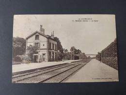 Messei - La Gare / Cachet Et Timbre - Otros Municipios