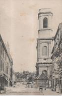 Besançon - Tour De L' Eglise De La Madeleine ( Légende En Rouge ) - Besancon