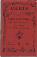 75 PARIS Belle Pochette De 6 Cartes De Paris Illustrées Par Paul De Frick - Otros
