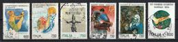 Italie 1994 : Timbres Yvert & Tellier N° 2061 - 2062 - 2063 - 2065 - 2066 - 2067 - 2068 - 2069 - 2070 Et 2071 Oblitérés. - 1991-00: Used