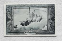 Cartolina Illustrata Istituto Internazionale D'Agricoltura Roma - Plafond Du Grand Salon De Réception, Viaggiata 1927 - Peintures & Tableaux