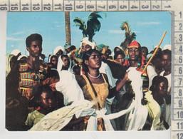 Sudan - Sudanian Folklore - Tribe Dance Ethnic Postcard - Sudan