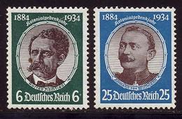 Allemagne Empire 1934 Yvert 500 - 502 * TB Charniere(s) - Ungebraucht